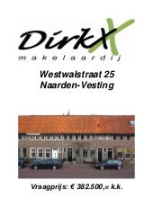 Db Westwalstraat 25 Naarden