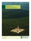 PA DCNR Shale-Gas Monitoring Report - April 2014