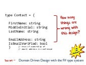 Domain Driven Design with the F# ty...