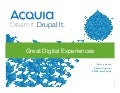 Data Driven Marketing Roadshow Dublin 270314_Acquia