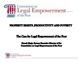 Property Rights, Productivity and P...