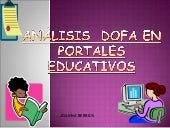 Portales Educativos matriz DOFA