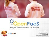 OpenPaas Collaboration Platform. OW2con'15, November 17, Paris.