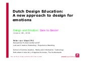 Dutch Design Education | van Waart,...