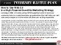Dealer  Internet  Battle  Plan    Web 2