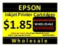 NDTIC WHOLESALE ONLY EPSON CARTRIDGES WHOLESALE Owning your own inkjet and laser toner printer cartridge store is a sure money maker, without doubt.   Just about the worst way to get into the business is to buy any inkjet printer cartridge refill refillin