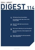 DealMarket Digest Issue 114 - 25 October 2013