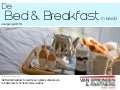 De bed & breakfast in beeld 2010