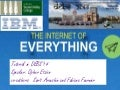 DEBS 2014 tutorial  on the Internet of Everything.
