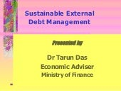 Debt Management Tarun Das