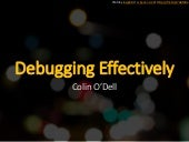 Debugging Effectively - SymfonyLive San Francisco 2015