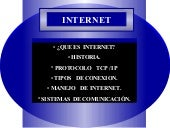 ¿QUE ES INTERNET? RED MUNDIAL DE IN...
