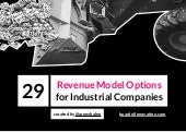 29 Revenue Model Options for Industrial Enterprises