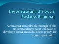 Deconstructing the social business roadmap