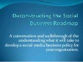 Deconstructing the social business ...