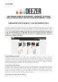 Deezer launch spain