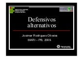 Defensivos alternativos