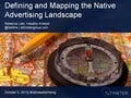 [Webinar] Defining and Mapping the Native Advertising Landscape