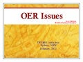 OER Issues