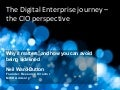 Neil Ward-Dutton, Co-founder and Research Director at MWD Advisors - Digital Enterprise readiness – the CIO perspective