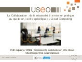 Collaboration et Cloud computing