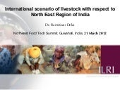 International scenario of livestock...