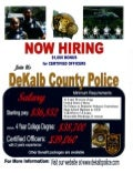Georgia National Guard Job Opportunity: Dekalb Police Dept