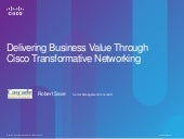 Delivering business value through t...