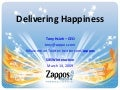 Deliverying Happines