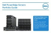 Dell PowerEdge Porfolio 2013