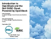 Dell SUSE Cloud Solution, Powered b...