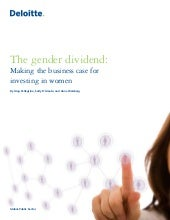 Deloitte Gender Dividend