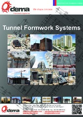 Tunnel Form Systems by Dema Formworks