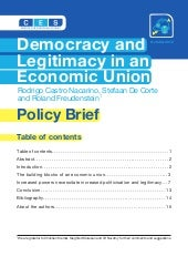 Democracy and Legitimacy in an Econ...