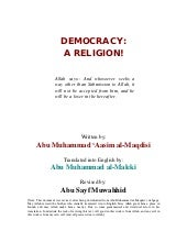 Democracy A Religion