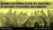 Democratizing Data to Empower Our Lives