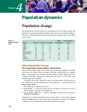 Demographic Change in the UK
