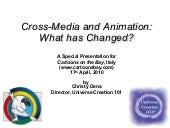 Cross-Media and Animation