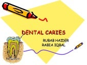 Dental caries ppt