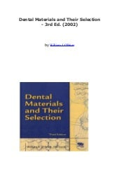 Dental material & thier selection2002