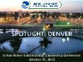 2012 Spotlight City: Denver, CO
