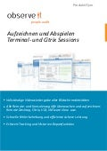 ObserveIt -Record and replay SSH, RDP & Citrix sessions-German