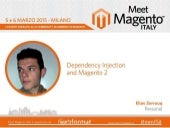 Elias Zerrouq: Dependency Injection and Magento 2