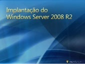 Implantação do Windows Server 2008 R2