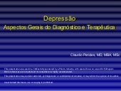 Depression Summary  Portuguese