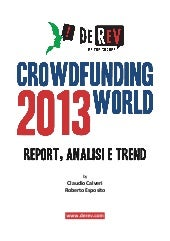 DeRev - Crowdfunding World 2013: Re...