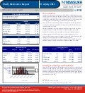 DERIVATIVE REPORT FOR 1 July - MANSUKH INVESTMENT AND TRADING SOLUTIONS