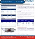 DERIVATIVE REPORT FOR 11 July - MANSUKH INVESTMENT AND TRADING SOLUTIONS