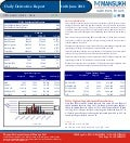 DERIVATIVE REPORT FOR 14 June - MANSUKH INVESTMENT AND TRADING SOLUTIONS