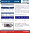 DERIVATIVE REPORT FOR 21 June - MANSUKH INVESTMENT AND TRADING SOLUTIONS